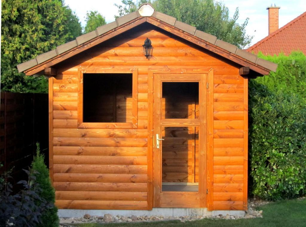 Elkészült munkáinkból - kerti faház