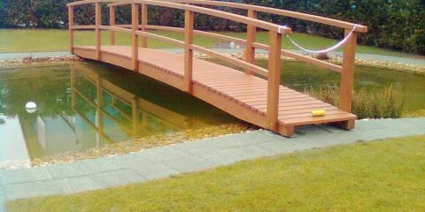 Híd kerti tóra
