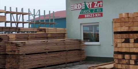 Építő minőségű fűrészáru